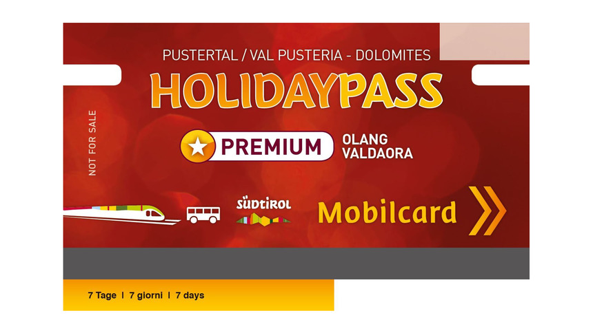 Premium Holiday Pass Olang