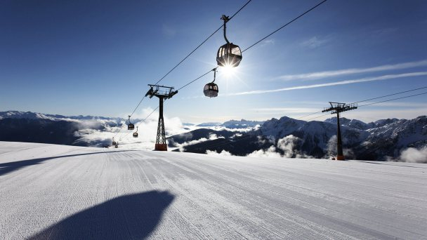 Ski & sun at the Kronplatz